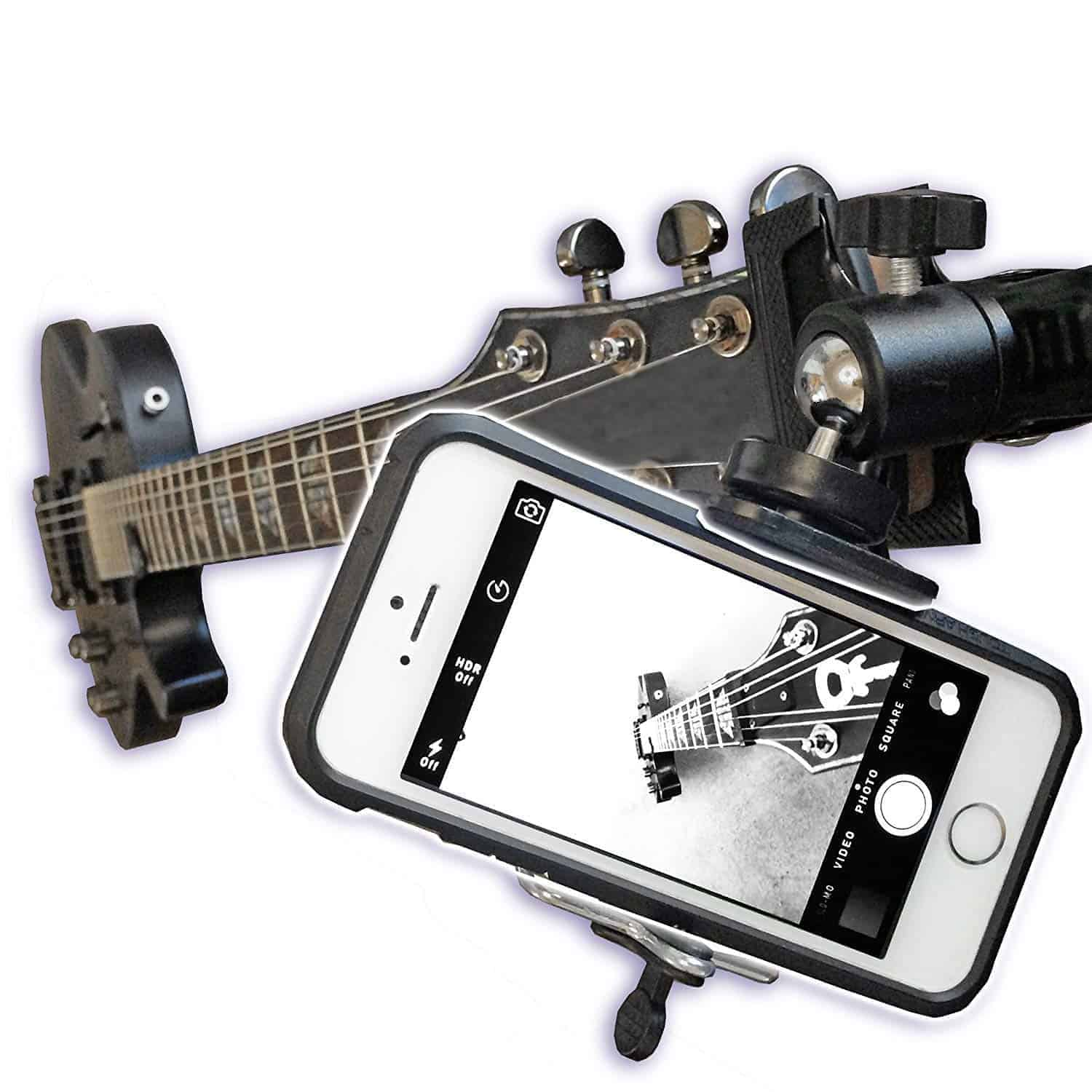 Smartphone Head-stock Mount