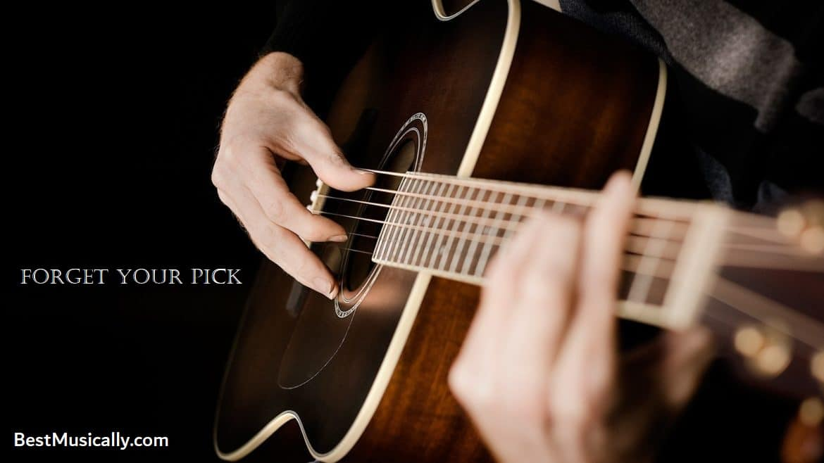 How to play guitar without a pick? By Best 4 Exercises