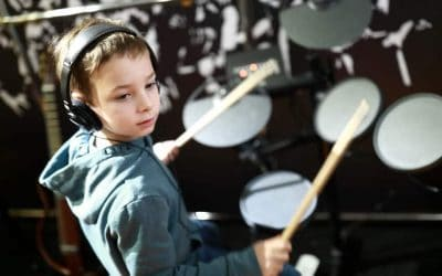 Teaching Kids To Play The Drums