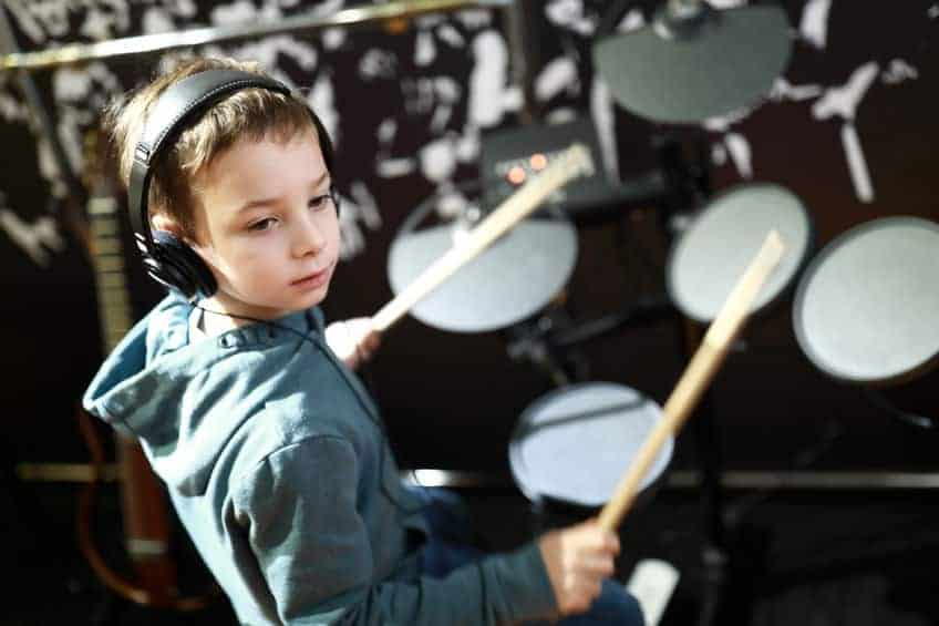 Kids To Play The Drums