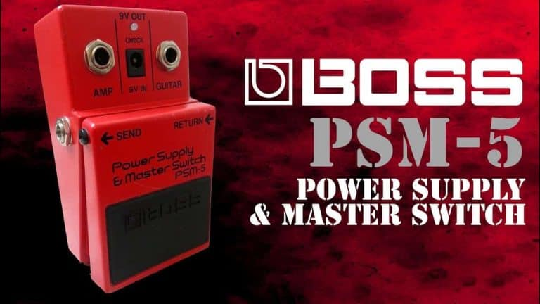 Top Secret of How to Revive BOSS PSM-5 Power Supply and Master Switch