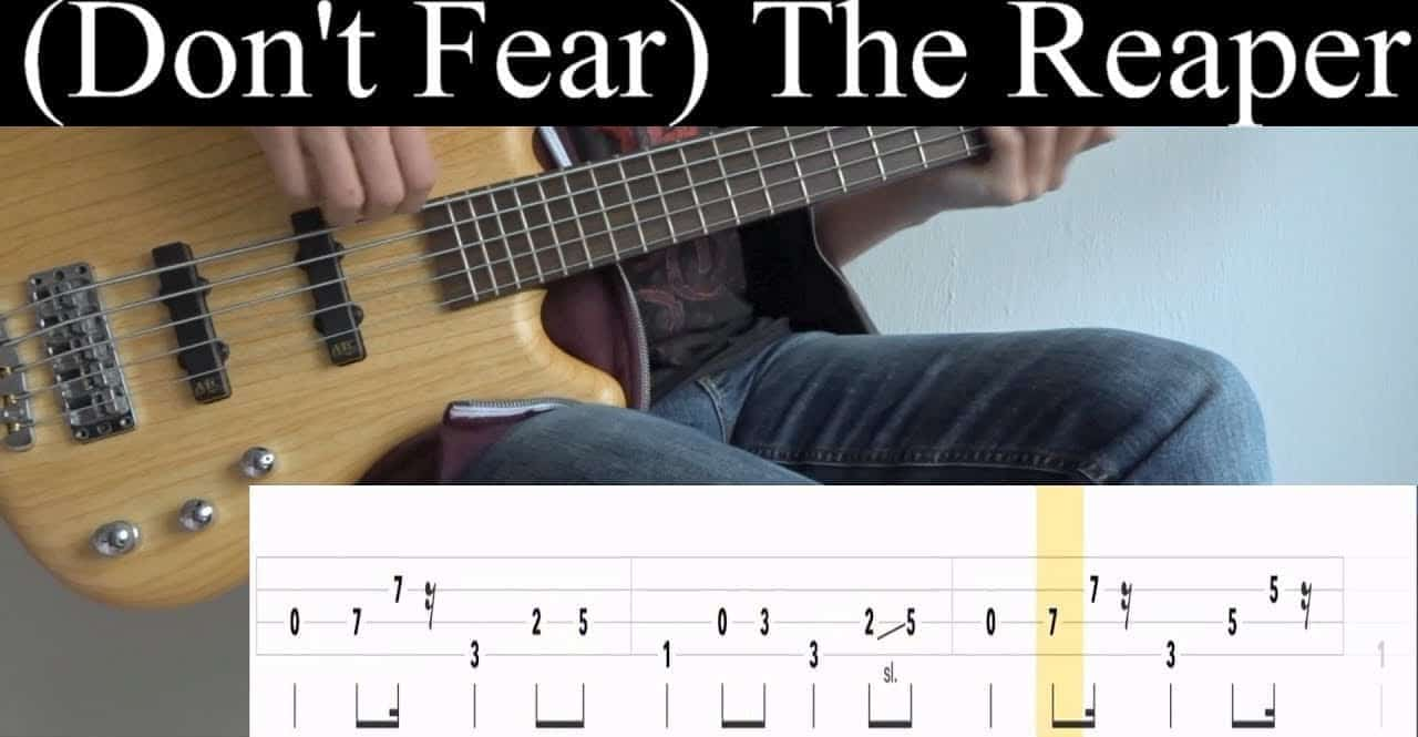 Learning Blue Oyster Cult Guitar With Don't Fear The Reaper Tabs