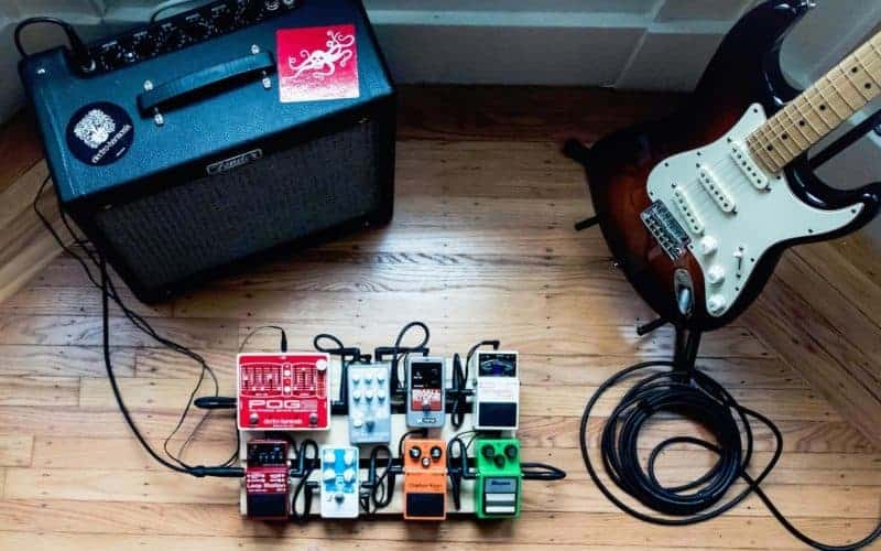 Guitar Effects Pedals compression