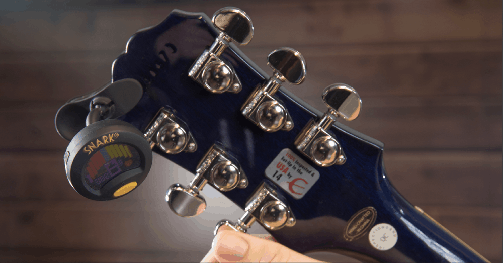 How To Tune An Electric Guitar Or An Acoustic Guitar