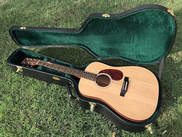 Martin DSM Solid Top Dreadnought Mahogany Spruce Acoustic Guitar