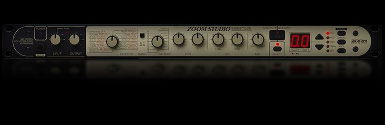 Zoom 1204 Guitar and Vocal Multi-Effects Processor