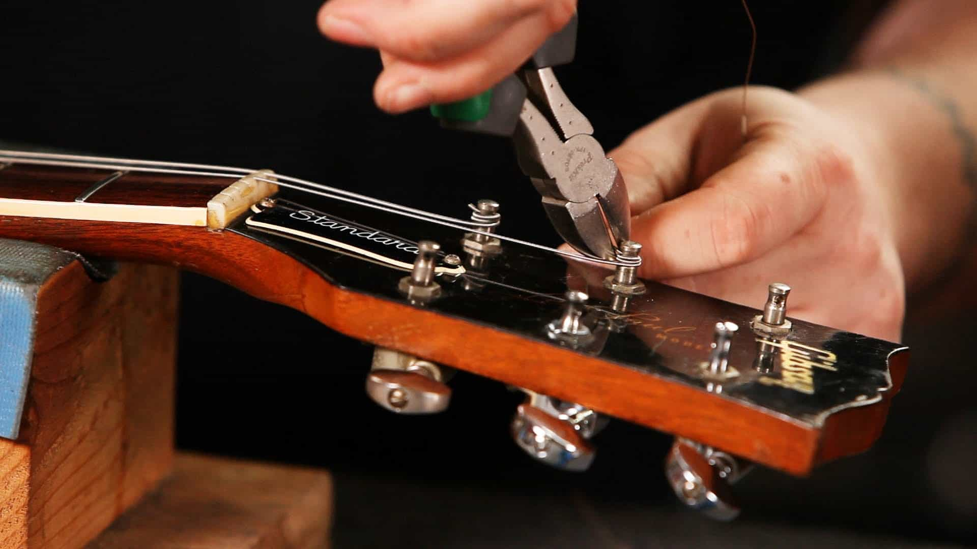 How to Restring an Acoustic Guitar