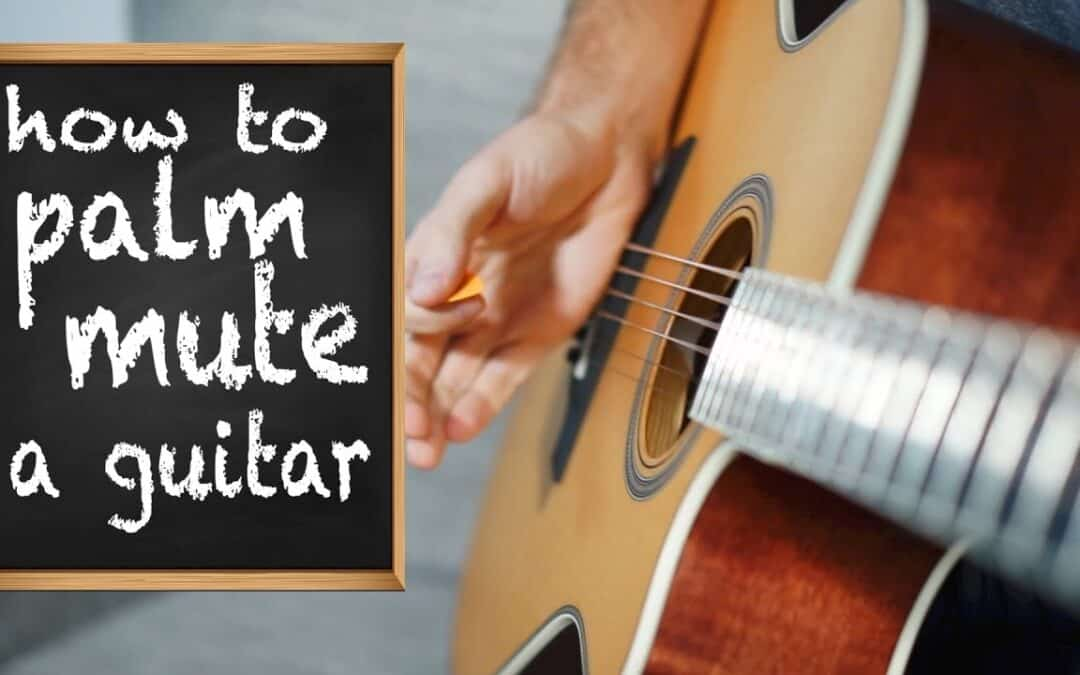 How To Palm Mute || A Better Tech For Every Guitarist.